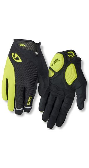 Giro Strade Dure LF Gloves Men black/highlight yellow